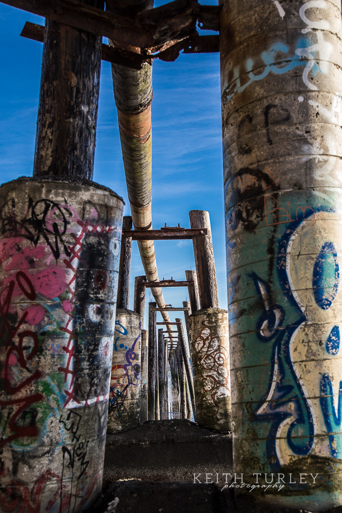 Graffiti Towers Keith Turley Photography