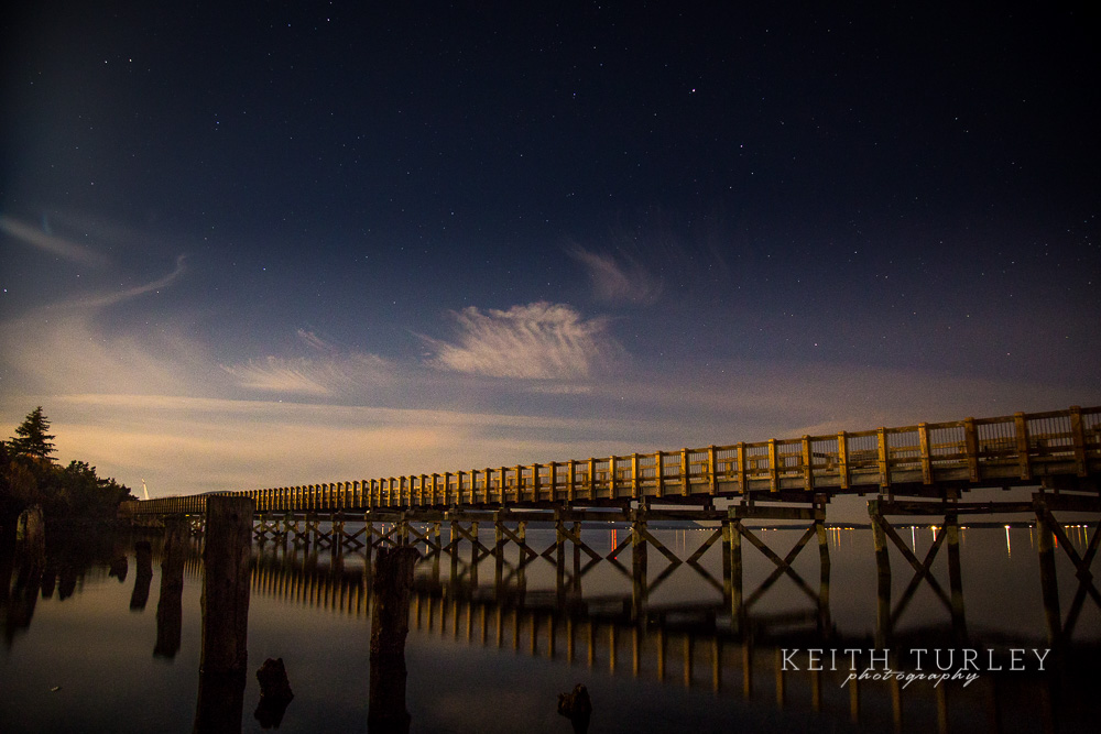 Boulevard Trestle At Night Keith Turley Photography